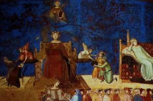 Allégorie et effets du Bon et du Mauvais Gouvernement, Lorenzetti (1338-1339)